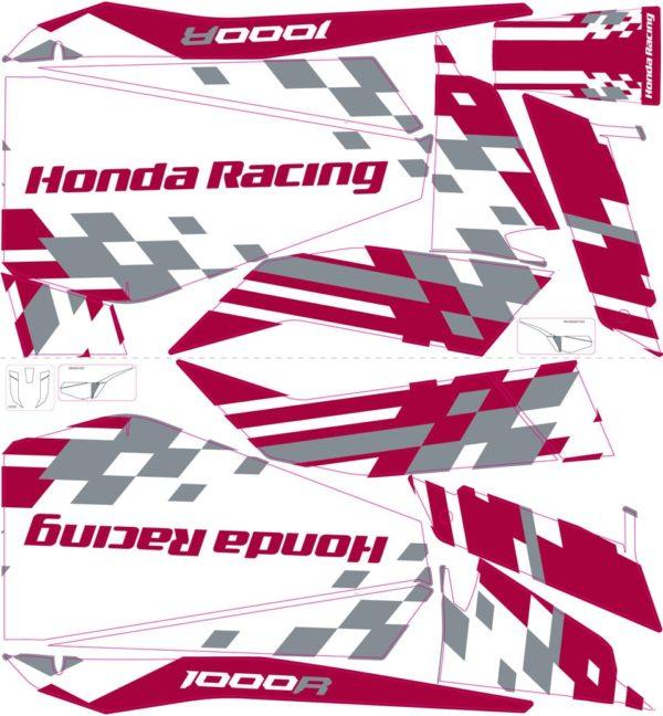 Honda Racing Talon1000R Print