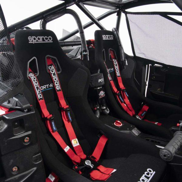honda talon race parts race cage 1